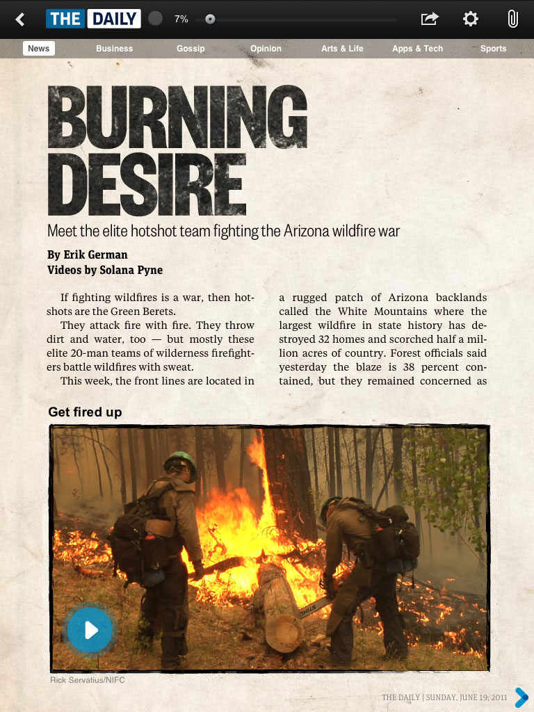 Burning Desire: Following the elite hotshot team as they fight the Arizona wildfire